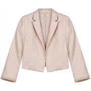 Boléro jacquard tissé irisé - rose - femme - devernois - tailles disponibles: taille unique