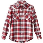 Soldes ! chemise barstow à carreaux - masculin - rose - levi's