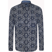 Soldes d'ete 2017 tommy hilfiger > new > chemise ajustée imprimée