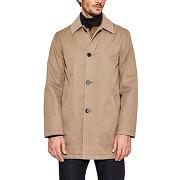 Manteau à col velours vert esprit homme