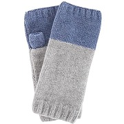 Payton kit de tricot pour mitaines sans doigts, bleu et gris