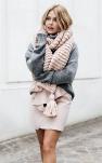 Un hiver tout doux en gris et rose pastel !