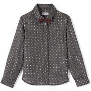 Soldes ! chemise de fête avec nœud papillon 3-12 ans - masculin - gris - la redoute collections