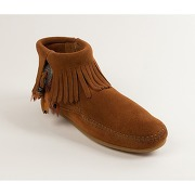 Soldes ! boots concho feather - - marron - minnetonka