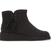Boots cuir cindy noir