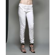 Pierre balmain-femme-jean skinny blanc-tf.34/ti.38