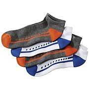 Lot de 4 paires de mini chaussettes sport atlas for men