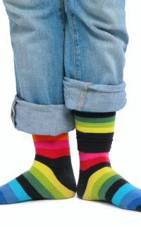 Des chaussettes sans dessus dessous