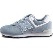 New balance enfant gc574ey bleu junior baskets/streetwear