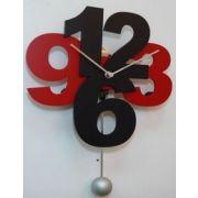 L 39 horloge l 39 heure actuelle pureshopping - Pendule cuisine moderne ...