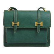 Sac cartable mary - lafayette collection - vert