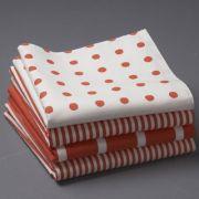 Serviettes de table en pur coton daily (lot de 4)