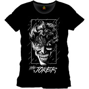 Tee-shirt noir the joker batman