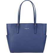 Sac cabas adèle - bleu - femme - lancaster - tailles disponibles: taille unique