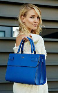 Je veux un sac bleu pour le printemps !