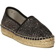 Chaussures femme le temps des cerises bondi - glitter black