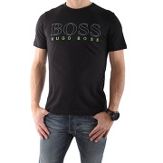 Tee shirt hugo boss logo 1 noir