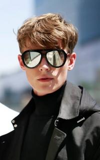 Tendance homme : Les lunettes miroir