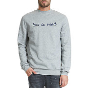 Sweat shirt maison mad amad gris homme