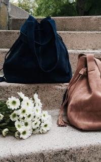 9 sacs en daim à shopper pour l'automne