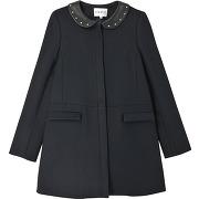 Manteau gisele - bleu - femme - claudie pierlot