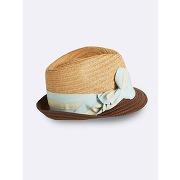 Soldes ! chapeau en paille fille - feminin - jaune - cyrillus