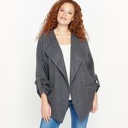 Soldes ! veste cascade - feminin - gris - castaluna