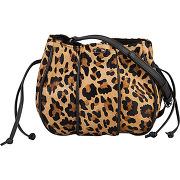 Sac bourse léopard multicolore ikks femme