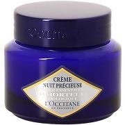 Crème nuit précieuse multicolore l'occitane en provence beauté