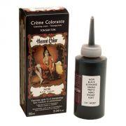 Henne color crème colorante henné noir 90ml