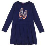 Camberra robe bleu marine