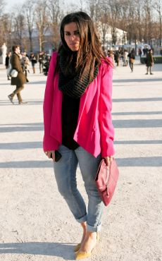 La veste color block