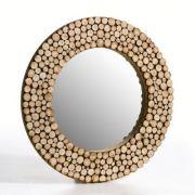 S lection d co piocher petits prix pureshopping for Miroir rond cadre bois