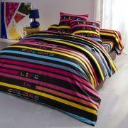 Taie d'oreiller - linge de lit colorama coton
