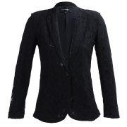 Veste dentelle doublée col tailleur- vestes - vêtements - best mountain