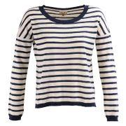 Pull marinière à coudières- pulls - vêtements - avant premiere