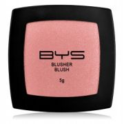 Blush compact rose veloutée bys