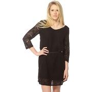 La p'tite etoile robe femme - fraisier_noir