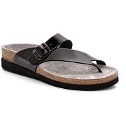 Sandales en cuir de veau, à entredoigt, helen. mephisto