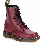 Boots femmes dr martens 1460 rouge