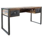 Bureau en bois - industry-l 120 x l 60 x h 80