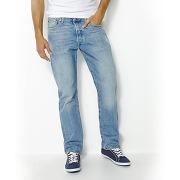 Jean 501 coupe regular longueur 34 bleu homme - levi's