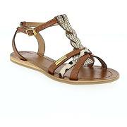 Sandales et nu-pieds les tropéziennes par m belarbi hams camel pour femme en cuir