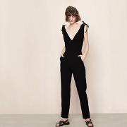 Combinaison avec détails lacés black maje t34 femme