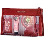 -30% sur le site the body shop femme trousse beauté fraise - tous les coffrets