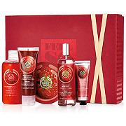 -30% sur le site the body shop femme coffret fraise - coffrets corps & bain