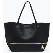 Patrizia pepe - sac de shopping avec pochette à l'intérieur