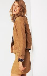 veste camel femme