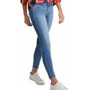 Jeans levis 710 super skinny stretch - bleu - femme - levi's
