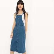 Robe tablier, denim - feminin - bleu - r edition